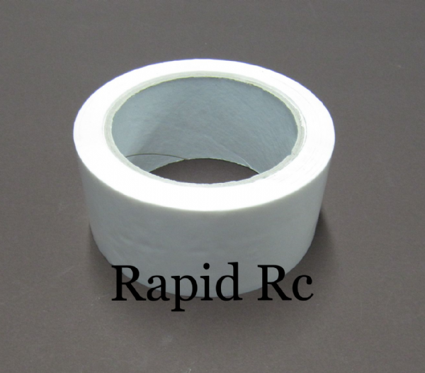Wing Tape 45mic x 45mm x 100m - Wide - White